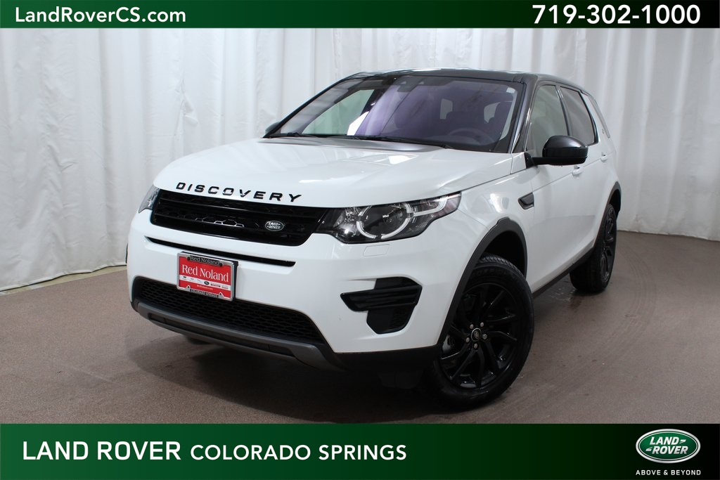 Land Rover Colorado Springs >> Pre Owned 2019 Land Rover Discovery Sport Se 4wd