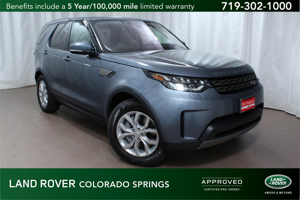 Certified Pre Owned 2018 Land Rover Discovery Se 4d Sport Utility In